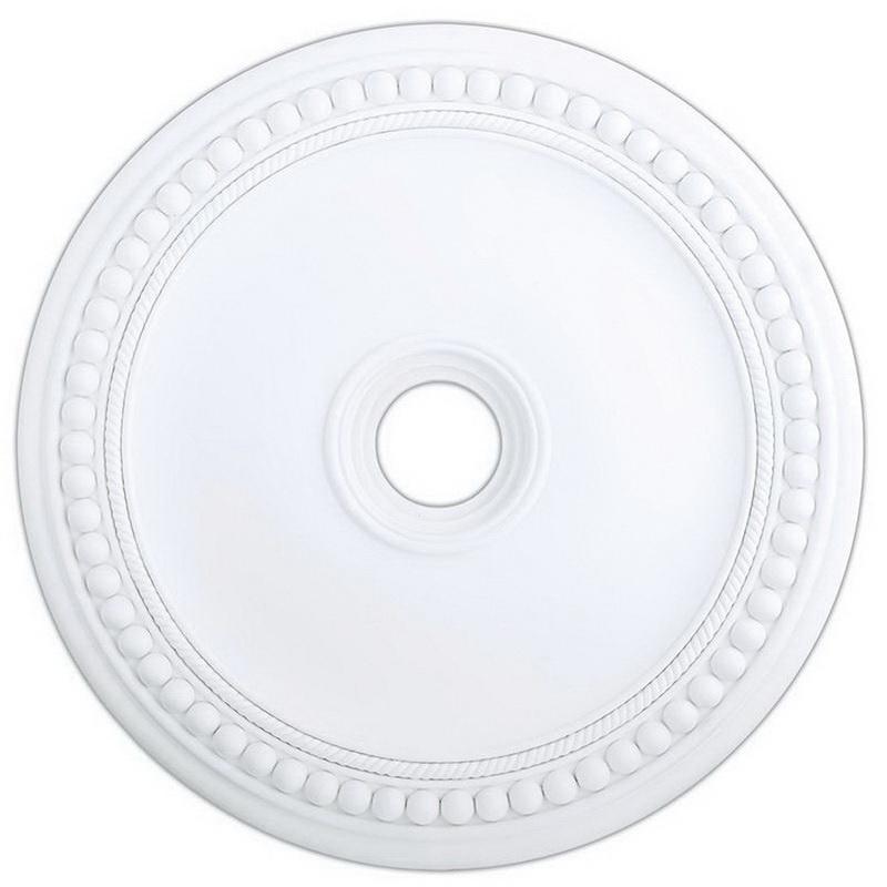 Livex Lighting 82073-03 Ceiling Medallion Polyurethane Foam White Wingate