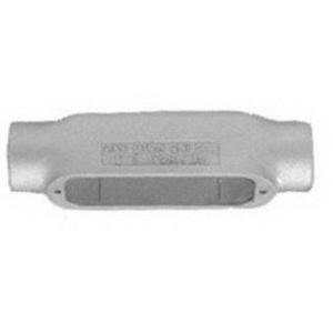 Emerson C250G Malleable Iron C Type Conduit Body 2-1/2 Inch OZ Gedney Spec 5™