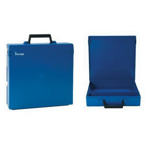 Rolacase RC002 Case Without Divider 370 mm x 370 mm x 85 mm Polycarbonate Blue/Blue Lid