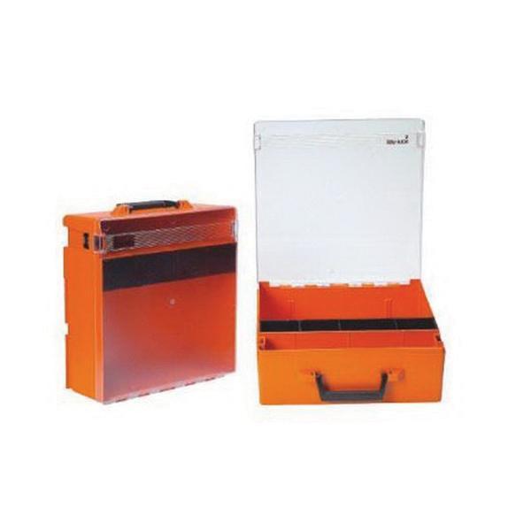 Rolacase RC003/CL Polycarbonate Lid Large Case 14-9/16 Inch 14-9/16 Inch 5-1/8 Inch Orange