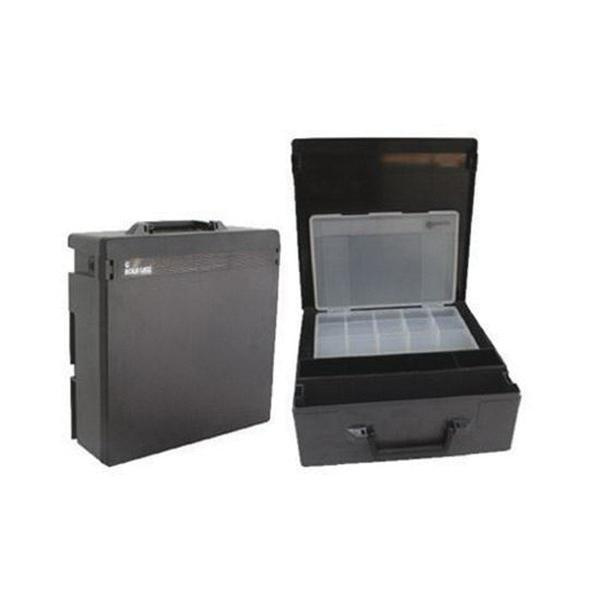 Rolacase RC003/QK Polycarbonate Lid Large Case 14-9/16 Inch x 14-9/16 Inch x 5-1/8 Inch Black