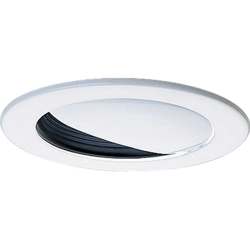 Progress Lighting P8047-31 IC/Non-IC 4 Inch Round Recessed Wall Washer Trim 1-Light Black