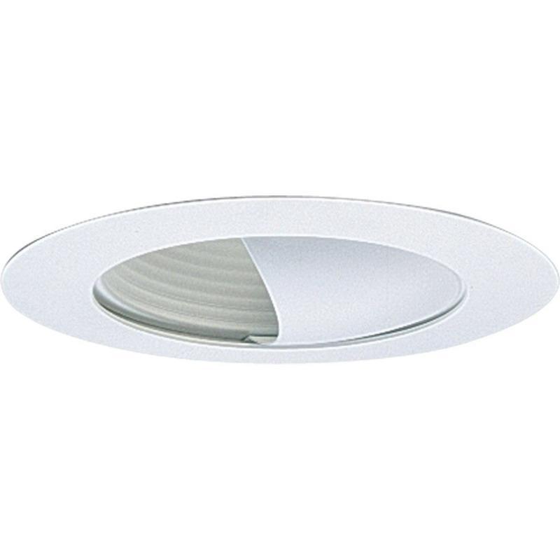 Progress Lighting P8052-28 IC/Non-IC 6 Inch Round Recessed Wall Washer Trim 1-Light White