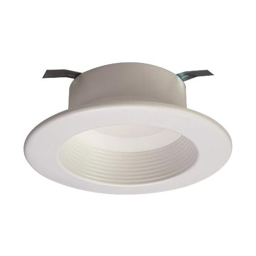 Halo RL460WH830PK 4 Inch LED Retrofit Recessed Baffle Trim RL4 Series Round Matte White 80 CRI 3000K 650 Lumens