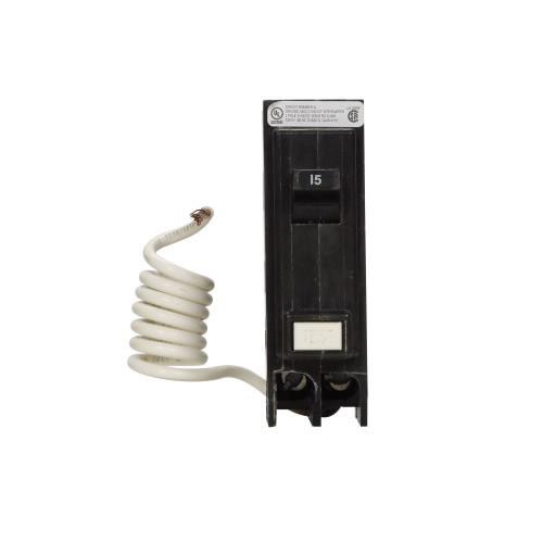Eaton GFTCB115 Plug-On Mount Type GFTCB Ground Fault Circuit Breaker 1-Pole 15 Amp 120 Volt AC