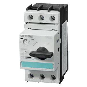 Siemens 3RV1021-1JA10 3-Pole 1 Or 3-Phase Motor Starter Protector 690 Volt AC 7 - 10 Amp Sirius