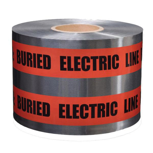 Presco D6105R6-457 Detectable Underground Tape 6 Inch x 1000 ft x 5 mil Red
