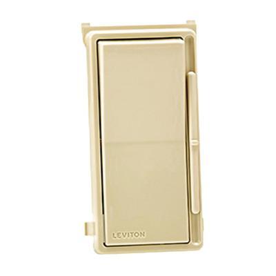 Leviton DSE06-10Z 120 Volt AC at 60 Hz 1-Pole 3-Way Electronic Low Voltage Electro-Mechanical Dimmer White Ivory Light Almond Decora®