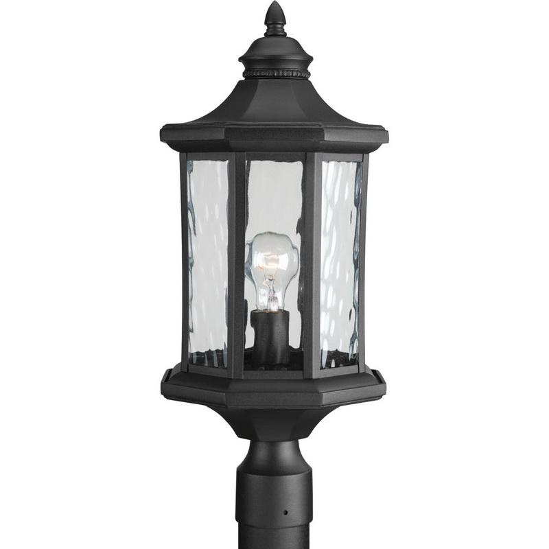 Progress Lighting P6429-31 1-Light Post Lantern 100 Watt Black Edition