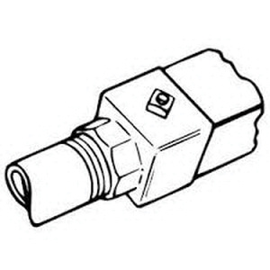thomas  u0026 betts g1021 threaded end fitting 3  4