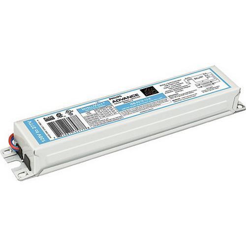 Philips Advance ISB104014EI (4) 110 Watt T12/HO Lamp Electronic Fluorescent Ballast 120 - 277 Volt SignPRO