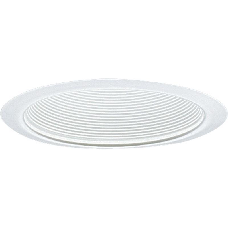 Progress Lighting P8063-28 IC/Non-IC 6 Inch Round Recessed Step Baffle Trim 1-Light White