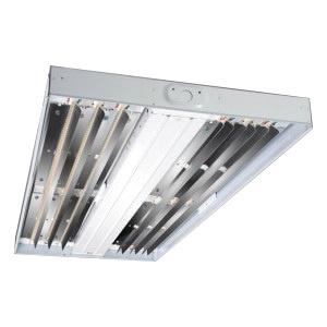 Cooper Lighting HBLED-LD4-24-W-UNV-L850-CD2-U Wide Distribution LED High Bay Efficiency Luminaire 203 Watt 120 - 277 Volt 80 CRI 24000 Lumens 5000K LED White Enamel Metallux®