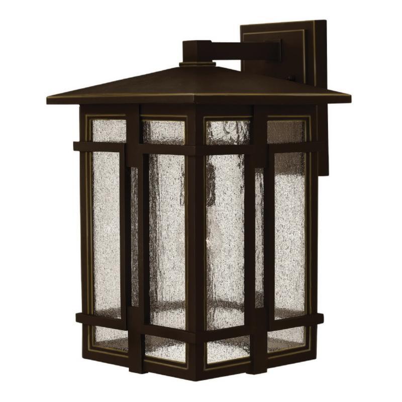 Hinkley Lighting 1965OZ 1-Light Outdoor Wall Lantern 100 Watt 120 Volt Oil Rubbed Bronze Tucker™