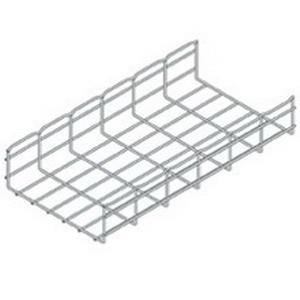 B-Line FT4X12X10 Electrogalvanized Steel Straight Sections Wire Basket Cable Tray 118.312 Inch x 12 Inch x 4.38 Inch Flextray™