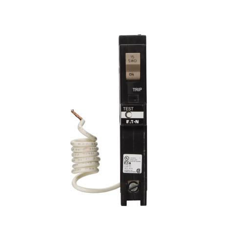 Eaton CHFGFT115 Plug-In Mount Type CH Ground Fault Circuit Breaker 1-Pole 15 Amp 120 Volt AC