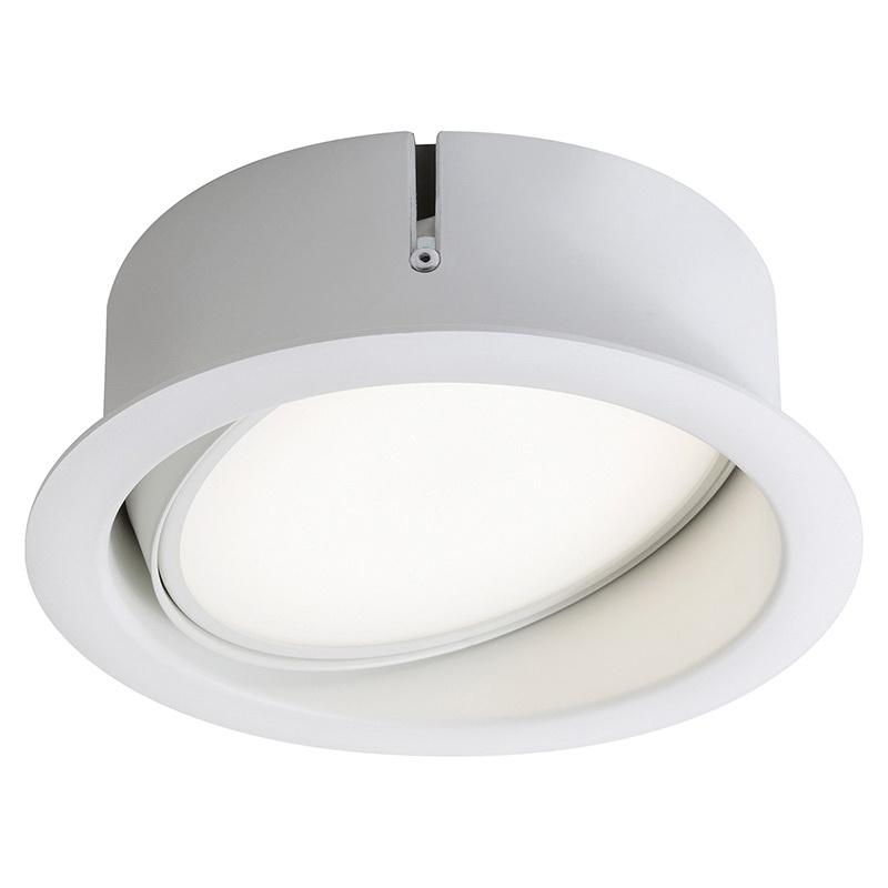 Lightolier L4RDW 4 Inch LED Open Down Light Trim White LyteCaster ...