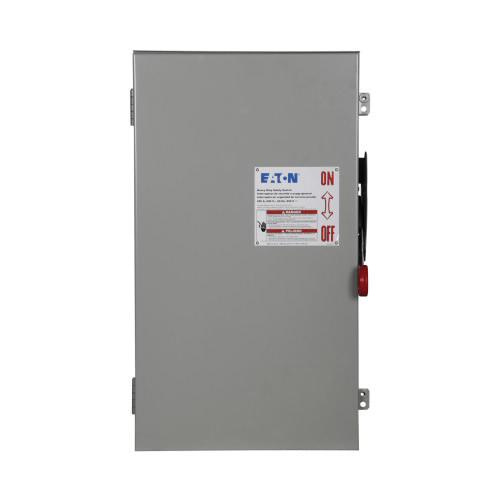 Eaton DH364FRK 3 Wire 3 Pole Fusible K Series Heavy-Duty Safety Switch 600 Volt AC 200 Amp NEMA 3R