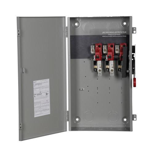 Eaton DH364UGK 3 Wire 3 Pole Non-Fusible K Series Heavy-Duty Safety Switch 600 Volt AC 200 Amp NEMA 1