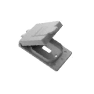 Toggle Switch Cover >> Kraloy 78903 Wtg 15 10 Pvc 1 Gang Weatherproof Toggle Switch Cover