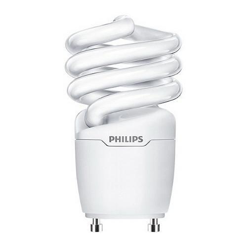 Philips Lighting 454199 EL/mdTQS Energy Saver Compact Fluorescent Lamp 13 Watt GU24 Base 1250 Lumens 80 CRI 2700K Warm White