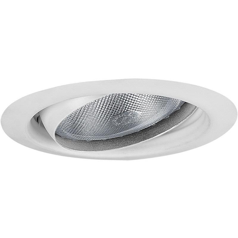 Progress Lighting P8176-28 IC/Non-IC 5 Inch Round Recessed Eyeball Trim 1-Light White
