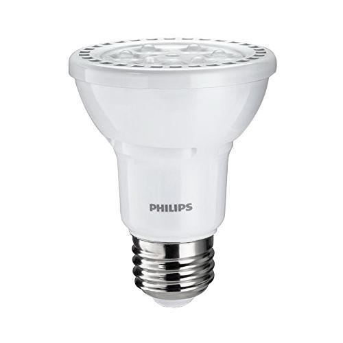 Philips Lighting 456053 Dimmable PAR20 Gen2 LED Lamp 6 Watt E26 Medium Base  450 Lumens 80