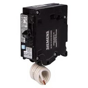 Siemens Q115DF Plug-In Mount Type QFGA2 Dual Function Arc/Ground Fault Circuit Breaker 1-Pole 15 Amp 120 Volt AC