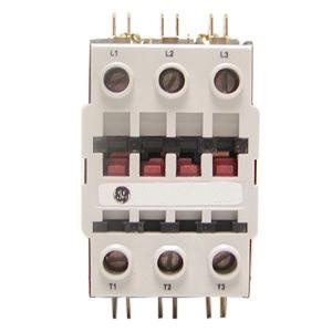 GE Industrial CR553AD3ABB 3 Pole Open Type CR553 Series Full Voltage Definite Purpose Contactor 40 Amp 115 - 120 Volt AC