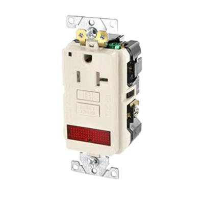 Leviton Gfpl2 Plw Industrial Grade Extra Heavy Duty Tamper Resistant