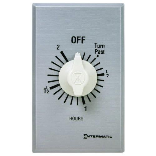 Intermatic FF2H Auto OFF Commercial FF Series Spring Wound Countdown Timer 125 - 277 Volt AC 2 Hour