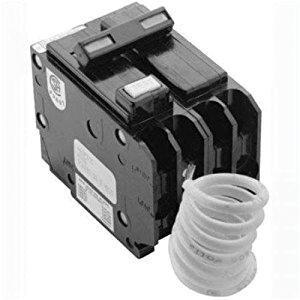 Eaton GFTCB220 Plug-On Mount Type GFTCB Ground Fault Circuit Breaker 2-Pole 20 Amp 120/240 Volt AC