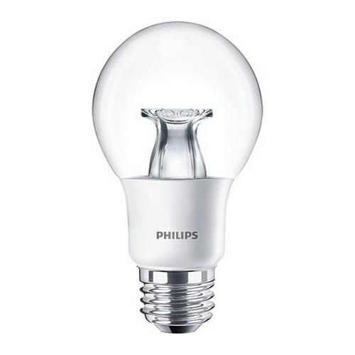 Philips Lighting 458745 A19 Candle LED Lamp 7 Watt E26 Medium Base 450 Lumens 80 CRI 2200 - 2700K Warm White