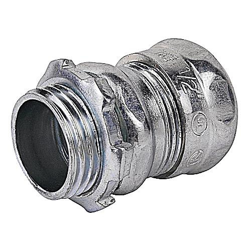 Thomas & Betts TC112A Steel Non-Insulated EMT Compression Connector 3/4 Inch Steel City®