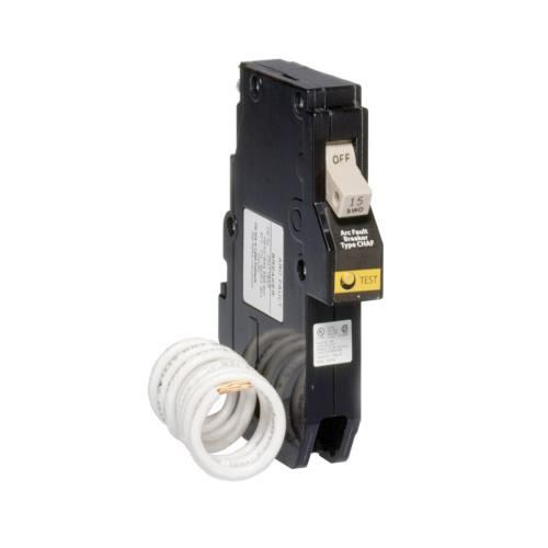 Eaton CH115AF Plug-In Mount Type CH Branch Feeder Arc Fault Circuit Breaker 1-Pole 15 Amp 120 Volt AC Fire-Guard®