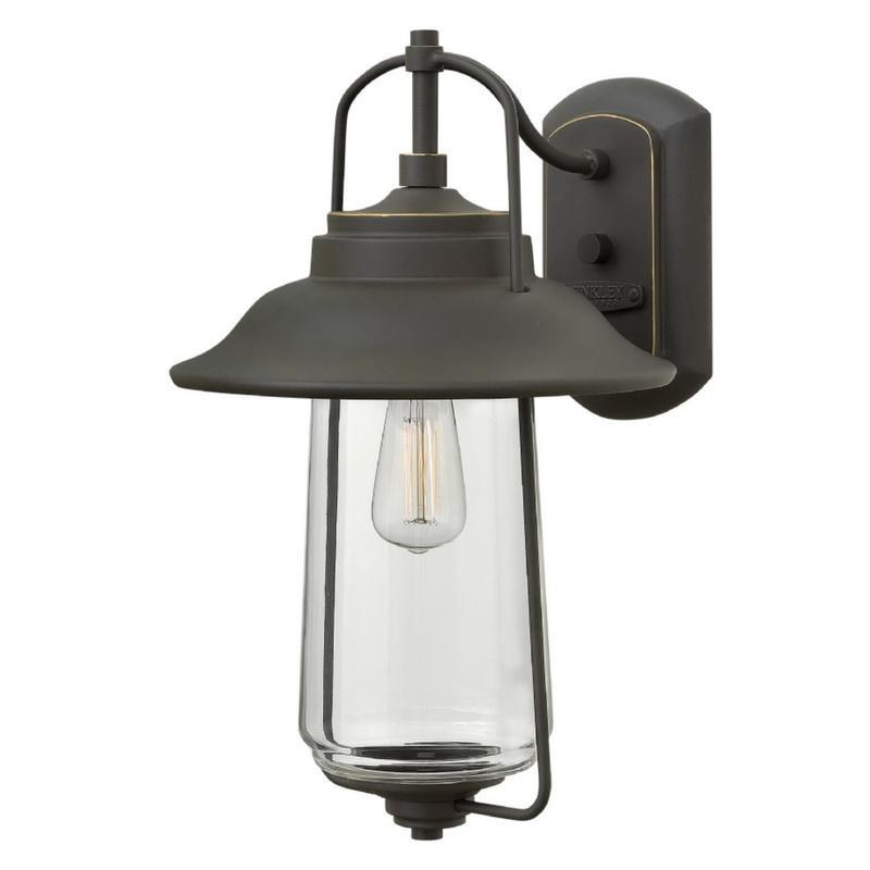 Hinkley Lighting 2864OZ 1-Light Outdoor Wall Lantern 100 Watt 120 Volt Oil Rubbed Bronze Belden Place™
