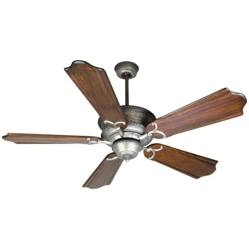 lodge ceiling fan small craftmade rt52pt rusticlodge ceiling fan 52 inch blade pewter