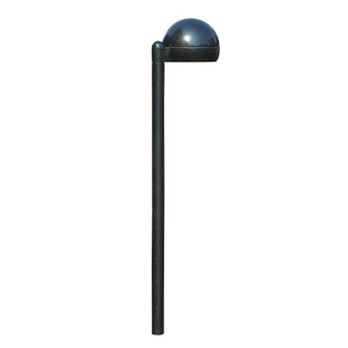 Philips Lighting CPL21-A-S7-LED2W Stake Mount Low Voltage LED Path Lighting 1.2 Watt 12 Volt Thermoset Polyester Black Powder Coated