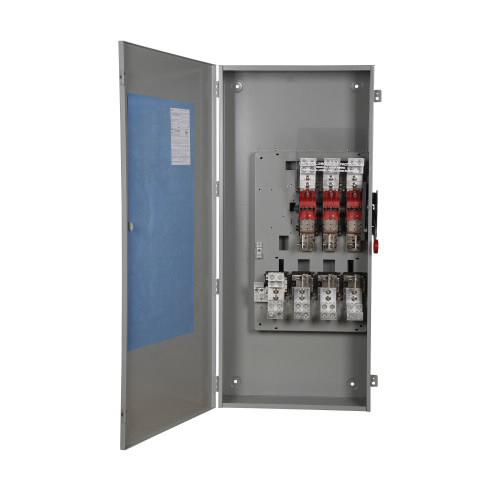 Eaton DH327NGK 4 Wire 3 Pole Fusible K Series Heavy-Duty Safety Switch 240 Volt AC 800 Amp NEMA 1