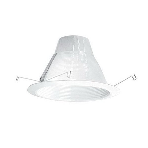 Elite Lighting Af637w Wh 6 Inch Socket Supporting Baffle Self D Airshut Trim Round White