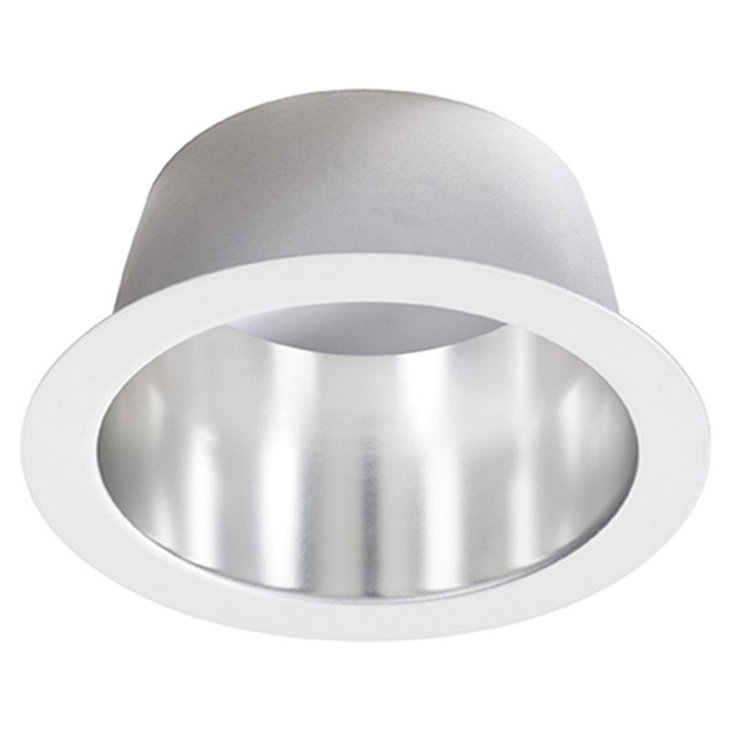 lightolier p4rdcc 4 inch down light reflector round comfort clear