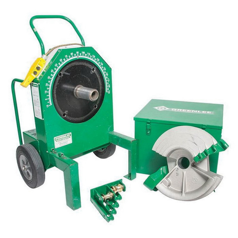 Greenlee 555RSC 120 Volt AC 20 Amp Classic Electric Bender W/Single Shoe 1/2 - 2 Inch Rigid