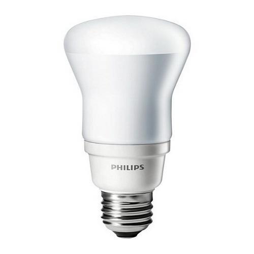Philips Lighting 426833 EL/A R20 Energy Saver Reflector Compact Fluorescent Lamp 13 Watt E26 Medium Base 180 Lumens 80 CRI 2700K Warm White
