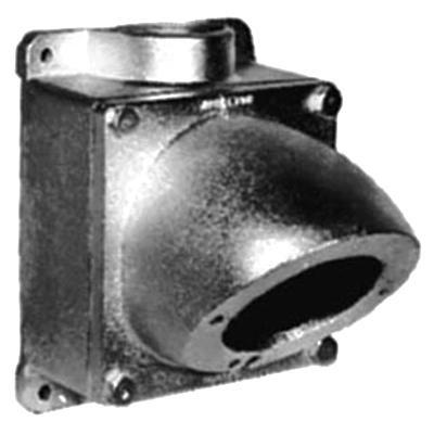 Appleton AJA620 Epoxy Powder Coated Copper Free Aluminum (4) Lug Mount  Angle Opening Pin And Sleeve Mounting Box And Adapter Powertite®