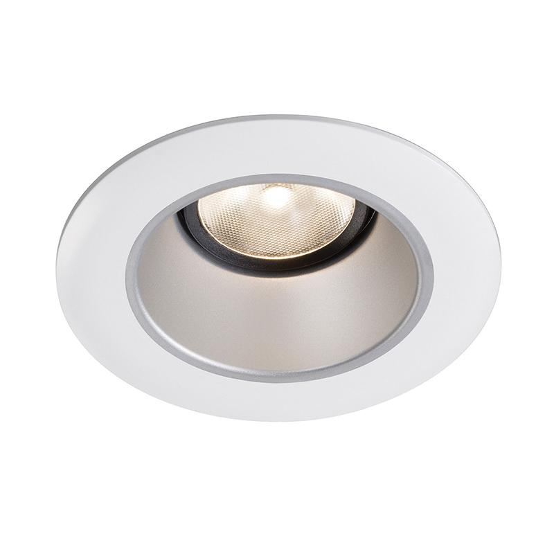 lightolier l3rdw 3 inch down light accent trim round white cone