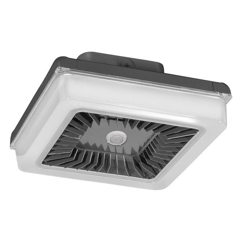 Rab Motion Detector Lights: Rab PRT55/D10/WS Pendant/Surface Mount LED Garage Light