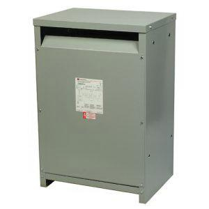 Eaton V48M28T7516 3-Phase Aluminum Distribution Transformer 480-Volt  Primary 208Y/120-Volt Secondary 75 KVA