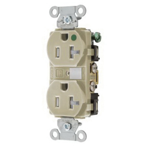 Hubbell-Wiring 8300IVTRA 3-Wire 2-Pole Hospital Grade Heavy ... on
