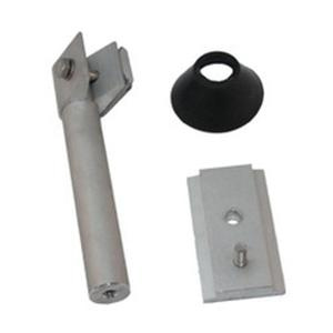 Snapnrck 242-02704 6000 Series Anodized Aluminum Bonding Standoff Kit With 1-Hole Base 5-1/2 Inch Clear