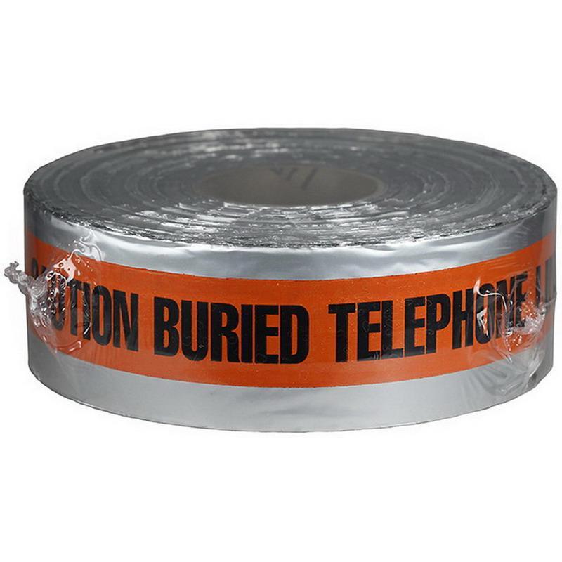 Dottie DU05 Detectable Tape 3 Inch x 1000 ft x 5 mil Orange